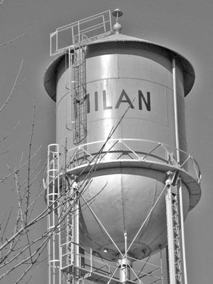 Milan Watertower