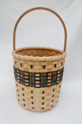 Milk Can Basket