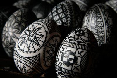 Batik Eggs